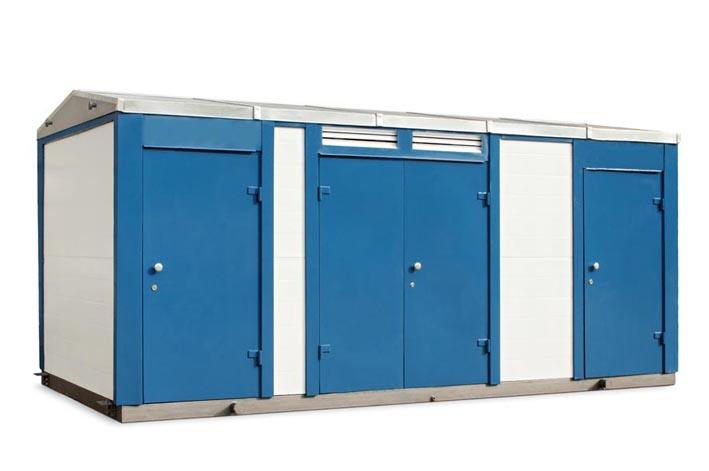 Подстанции трансформаторные комплектные тупиковые с воздушным высоковольтным вводом 6-10 кв и воздушным или кабельным